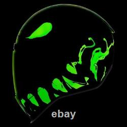 Icon Green Airform Manik'R Full Face Motorcycle Helmet New Spring 2021