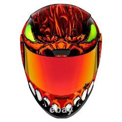 Icon Red Airform Manik'R Full Face Motorcycle Helmet New Spring 2021