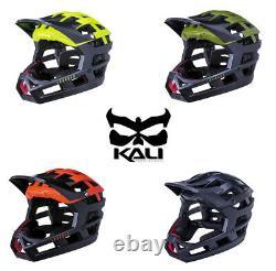 KALI Invader Full Face Bicycle Helmet. Nano / Composite Fusion. Trail MTB Bike