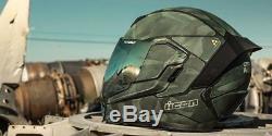 London Urban City Street Camo Icon Airflite Battlescar 2 Motorcycle Crash Helmet
