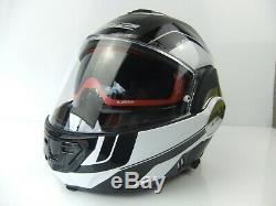 Ls2 Ff399 Valiant Lumen Motorcycle Convertible Helmet Sports Touring Modular