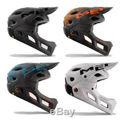 MET Parachute MCR MIPS Helmet Full Face Mountain Bike Detachable Chinbar