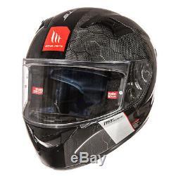 MT Helmets KRE Snake Full Carbon Motorcycle Motorbike Crash Helmet (New)