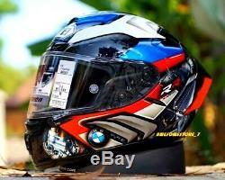 Marc Marquez 93 X-14 Full Face Helmet Moto Gp Casco 2020 Bmw S1000rr Tri Color