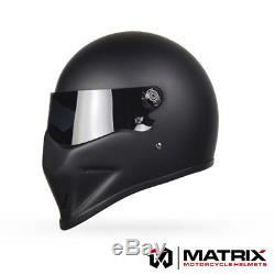Matrix StreetFX Streetfighter Motorcycle helmet Simpson Bandit Crystal style