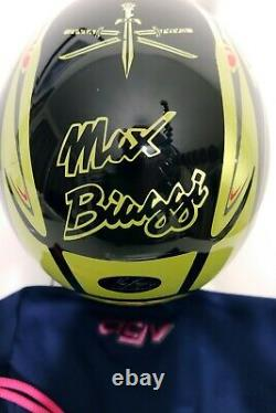 Max Biaggi Limited Edition Helmet Aprilia 250 cc Chesterfield MotoGP Legend
