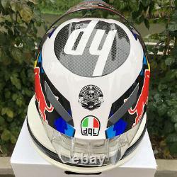 Moto Gp Full Face Motorcycle Racing Helmet Helm Capacete 2 Colors