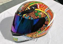 Motorcycle AGV Rossi helmet (Dreamtime)
