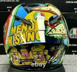 Motorcycle Full Face Helmet AGV Pista GP RR MISANO Helmet Model Design Copy ABS