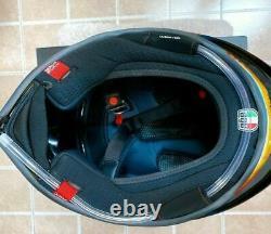 Motorcycle Full Face Helmet Rossi AGV Helmet Model Design Motorbike Copy ABS