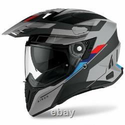 Motorcycle Helmet Airoh Commander Skill Matt BMW R1200 R1250 GS Adventure