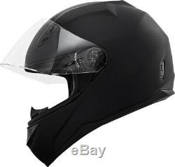 Motorcycle Helmet with Bluetooth Headset installed + Free Tinted Shield