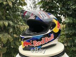 Motorcycle helmet full face Redbull AGV helmet model design
