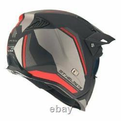 Mt Streetfighter Full Face Off Road Skull Motorcycle Motorbike MX Crash Helmet