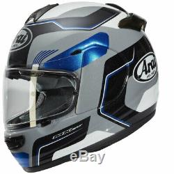 New Arai Axces 3 Full Face Motorcycle Helmet Sense Blue