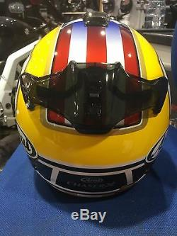 New Arai Chaser Chaser-x Colin Edwards Legend Yellow Replica Motorcycle Helmet