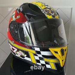 New Isle of Man TT Mann3 Road Racing Capital of the World Motorcycle Helmet
