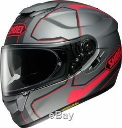 New Shoei GT AIR TC10 Pendulum Motorcycle Helmet with drop down visor