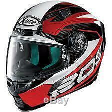 New Xlite X-lite X803 Ultra Carbon Motorcyle Motorbike Helmet Tester Red Black
