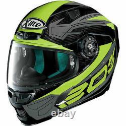 New Xlite X-lite X803 Ultra Carbon Motorcyle Motorbike Helmet Tester Yellow Blk