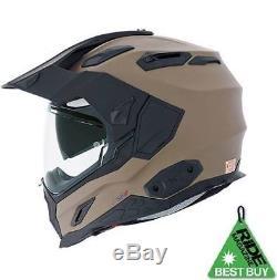 Nexx X. D1 Desert Adventure DVS Dual Sport Motorcycle Helmet XD 1 + Pinlock