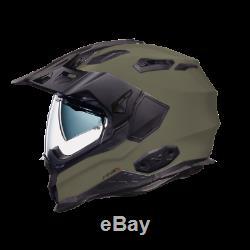 Nexx X WED 2 Plain SIERRA Adventure DVS Dual Sport Motorcycle Helmet