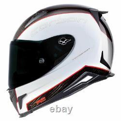 Nexx XR2 Carbon White Motorcycle Motorbike Helmet