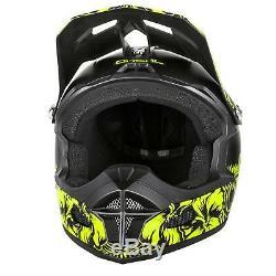 ONeal Fury RL Helm Maui Schwarz MTB Downhill Fullface Mountainbike Fahrrad DH FR