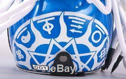 Predator Carbon Fiber Full Face Iron Man Alien Mask Motorcycle Helmet Safety DOT