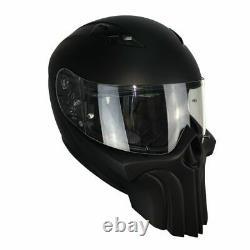 Punisher custom motorcycle helmet