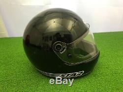 RARE Vintage 1980's BELL STAR LTD Motorcycle HELMET BLACK Full Face 7 1/4 58cm