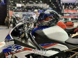 Rossi Bm W S1000rr Tricolore Pista Gpr Race Motorcycle Full Face Helmet New 2021