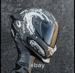 Ruroc Atlas 1.0 Helmet Platinum Ronin Size L Free Postage