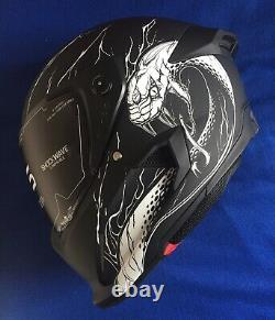 Ruroc Atlas 2.0 NEW Nerve Decay Motorcycle Helmet XS 53 54 CM Lid Carbon