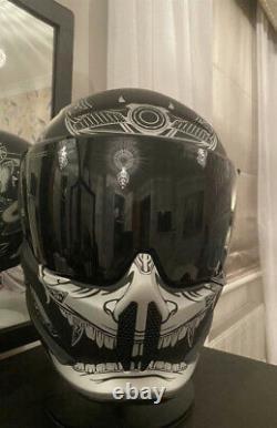 Ruroc Atlas 2.0 helmet Platinum Ronin medium size