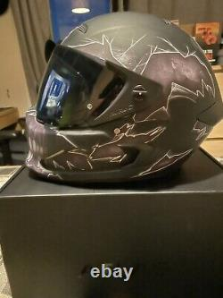 Ruroc (Fear) Halloween Edition Motorbike Helmet with Shock Wave Bluetooth Audio