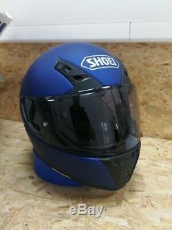 SHOEI RYD Motorcycle Helmet -Matt Metallic Blue Size L