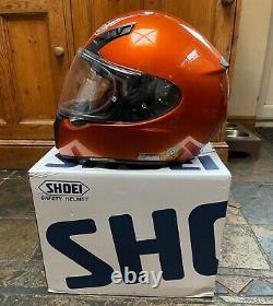 SHOEI Ryd Helmet Tangerine Excellent Condition