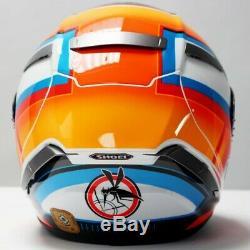 SHOEI X-SPIRIT 3 DE ANGELIS TC1 Rider Full Face Motorcycle Crash Helmet QP