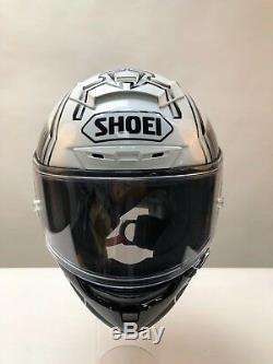 SHOEI X-SPIRIT 3 MARQUEZ 4 MOTORCYCLE HELMET TC 6 black white X-Small