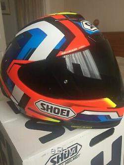 SHOEI X-Spirit 3 brink MED inc dark visor OUT OF BOX CONDITION WORN ONCE