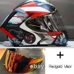 SHOEI X14 X-Spirit 3 Motorcycle Marquez Full Face Helmet Moto GP Helmet