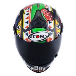 SUOMY SR SPORT Top Gamble Top Player Motorbike/Motorcycle Full Face Helmet