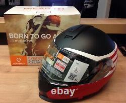 Schuberth S2 Sport Rush Red Helmet Size XL 61 / 7 5/8 Brand New With Box