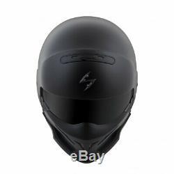 Scorpion Covert 3-IN-1 Motorcycle Street Helmet Matte Black 2XL