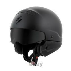 Scorpion Covert 3-IN-1 Motorcycle Street Helmet Matte Black 3XL 75-16003X