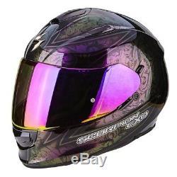 Scorpion EXO 510 Fantasy Chameleon Motorcycle Helmet