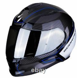Scorpion EXO 510 Frame Black Blue Full Face Motorbike Motorcycle Helmet