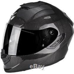 Scorpion Exo 1400 Carbon Fibre Motorcycle Helmet Sun Visor Motorbike Large J&S