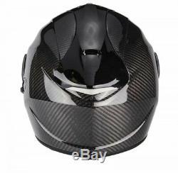 Scorpion Exo 1400 Plain Carbon Motorcycle Motorbike Full Face Helmet